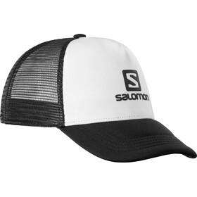 Salomon Summer Logo Cap Herre white/black